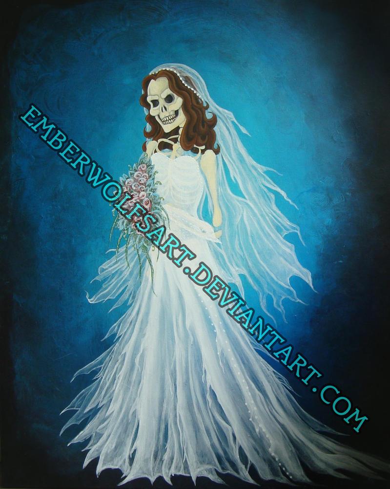 Bride by EmberWolfsArt