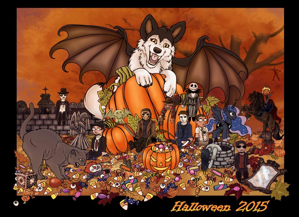 Halloween 2015 by EmberWolfsArt