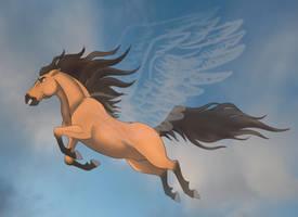 Spirit: Leap of Faith VIDEO by EmberWolfsArt