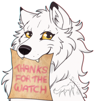 Thanks for the watch by EmberWolfsArt