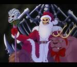 Skeletor Santa by EmberWolfsArt