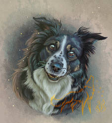 Portrait of Aleu + Speedpaint Video