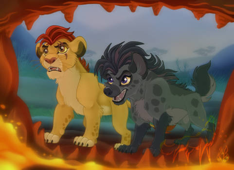 Kion and Jasiri 2