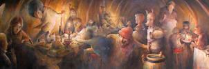 Un repas festif by felixgi