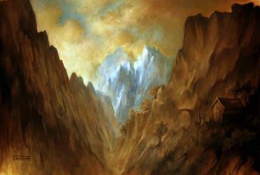 The mountain by felixgi