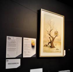 Exhibition at la Brulerie St-Jean