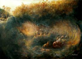 L'Allegorie de la caverne by felixgi