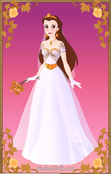 Akiko's Wedding Dress by SilkmousetheNeko