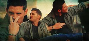 Jensen Ackles Eye of the Tiger