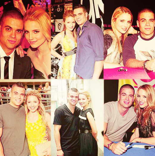Mark Salling and Dianna Agron by xx-dreamingsoul on DeviantArt
