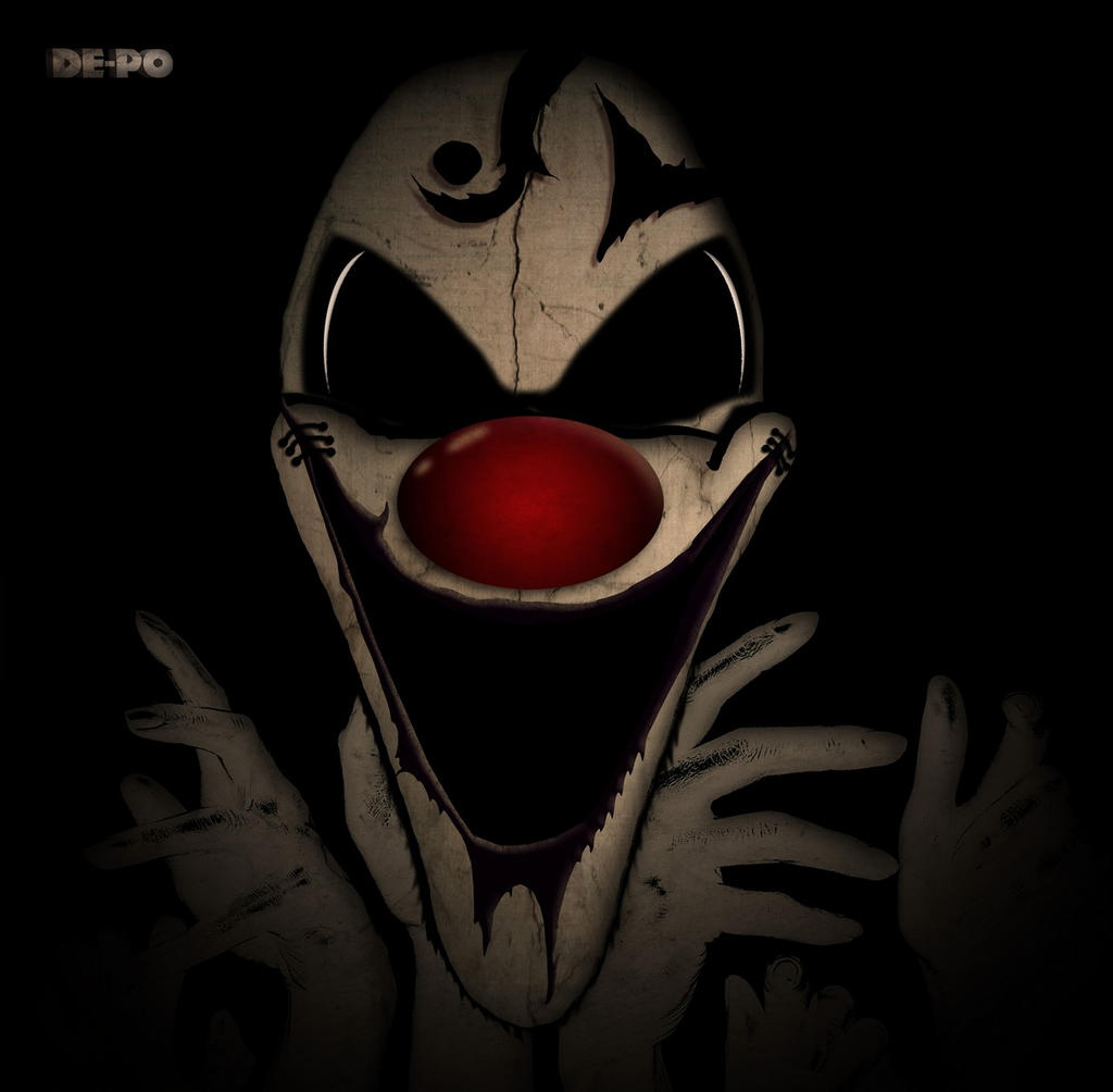 horror clown by jerichon88 on deviantart