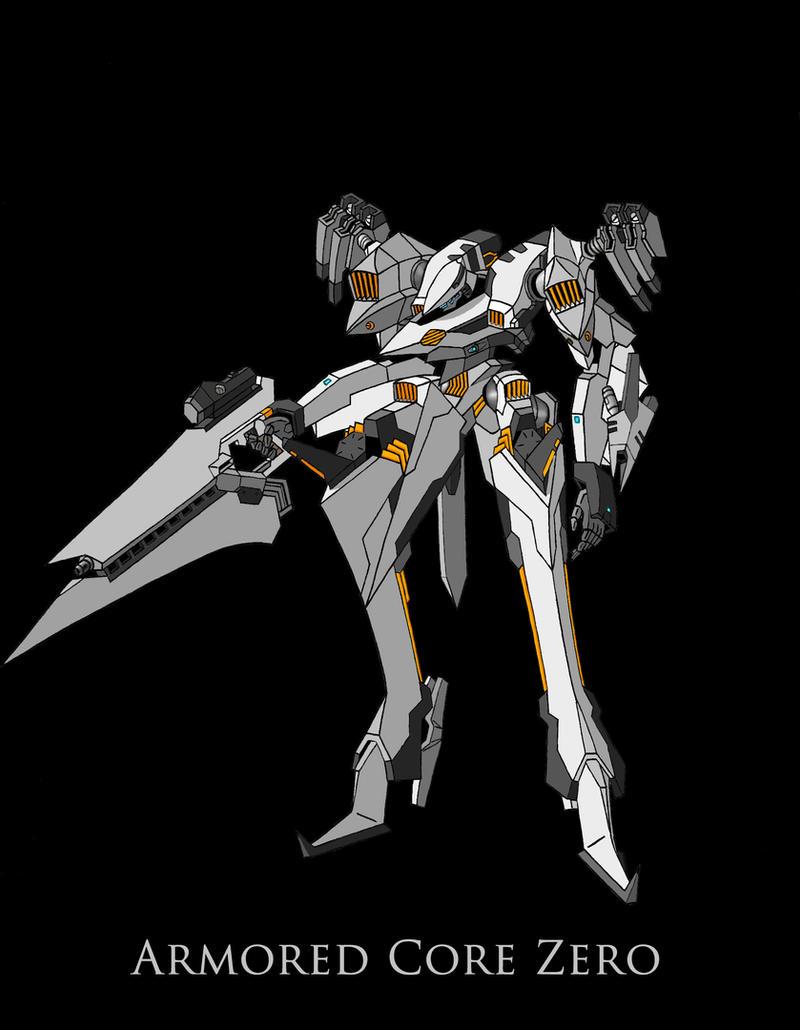 Armored Core Zero by Ryuuhiken