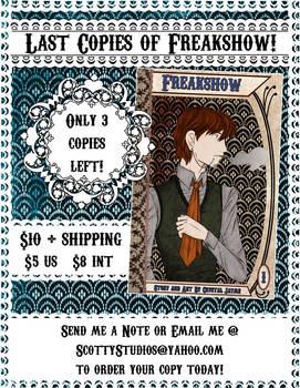 Freakshow Book Promo