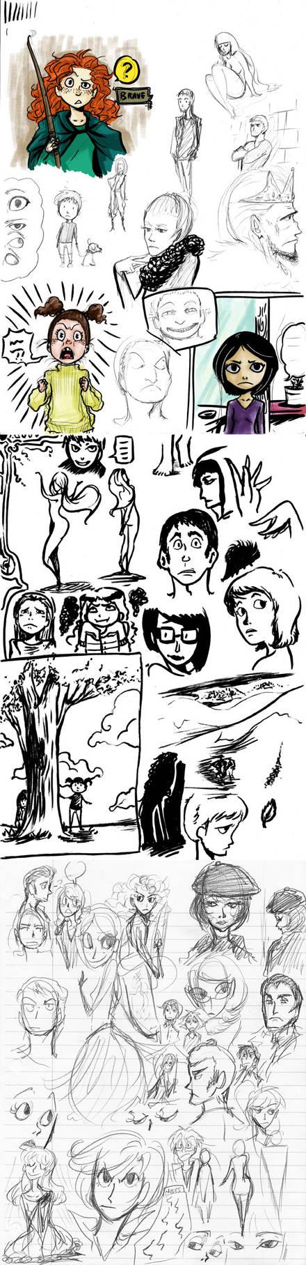 Sketch Dump March 14th