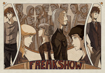 Freakshow Page Spread