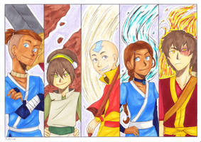 Avatar the Last Airbender Commission