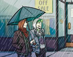 Hazy London- Rainy Day