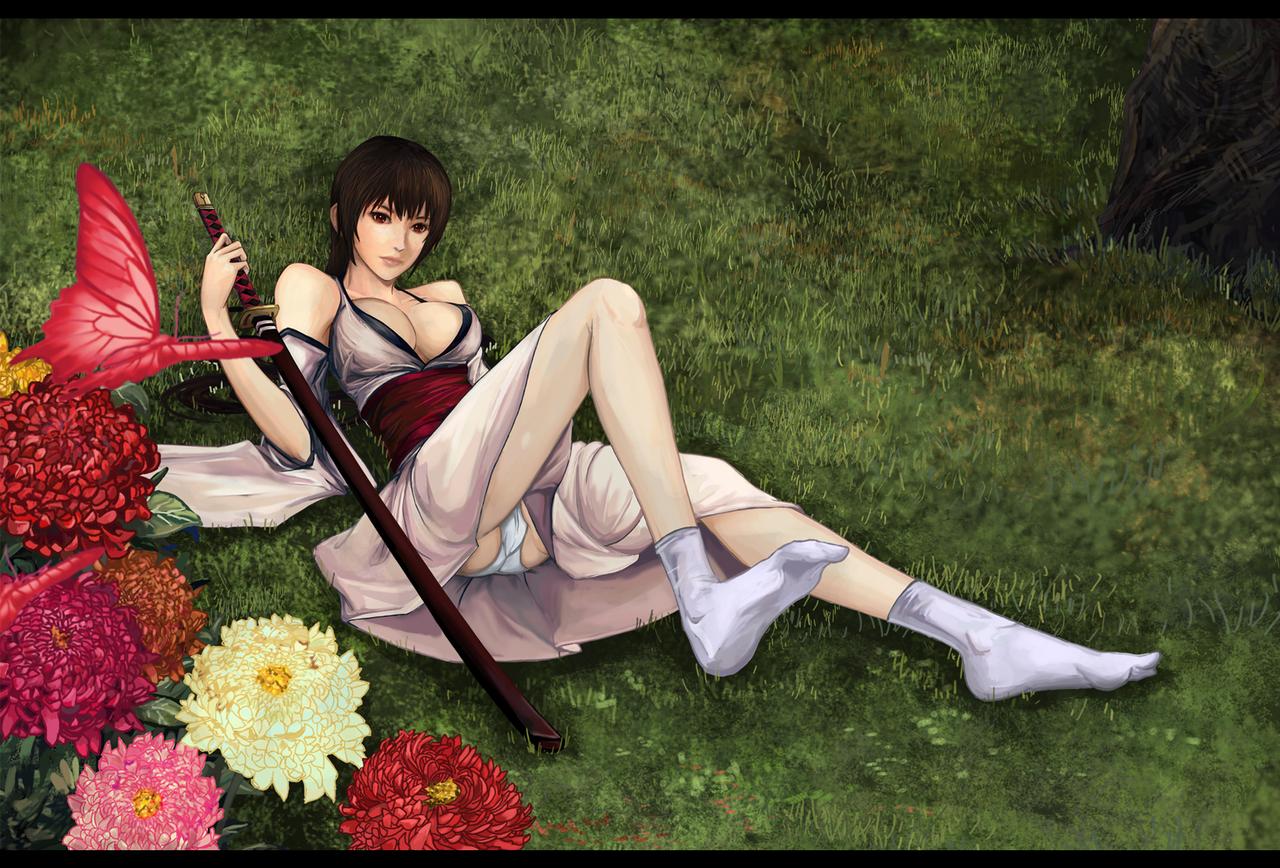 Chrysanthemum by nijiooezt