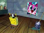 Spongebob prays for Unikitty
