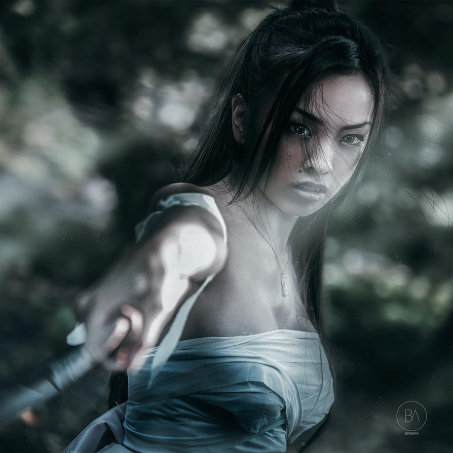 Evon Samurai Cosplay by hydropeek
