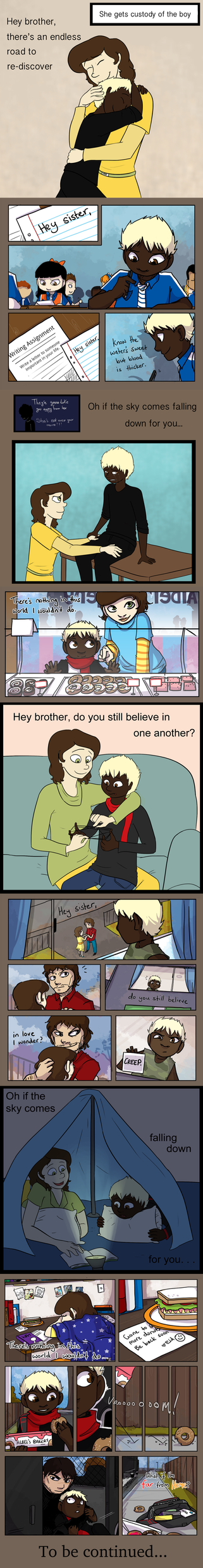 Hey Brother, Hey Sister (part 1) by Marleepup