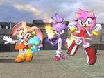 SSBB Sonic Girlz