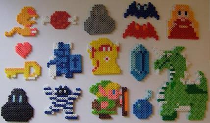 8-Bit Legend of Zelda Beads