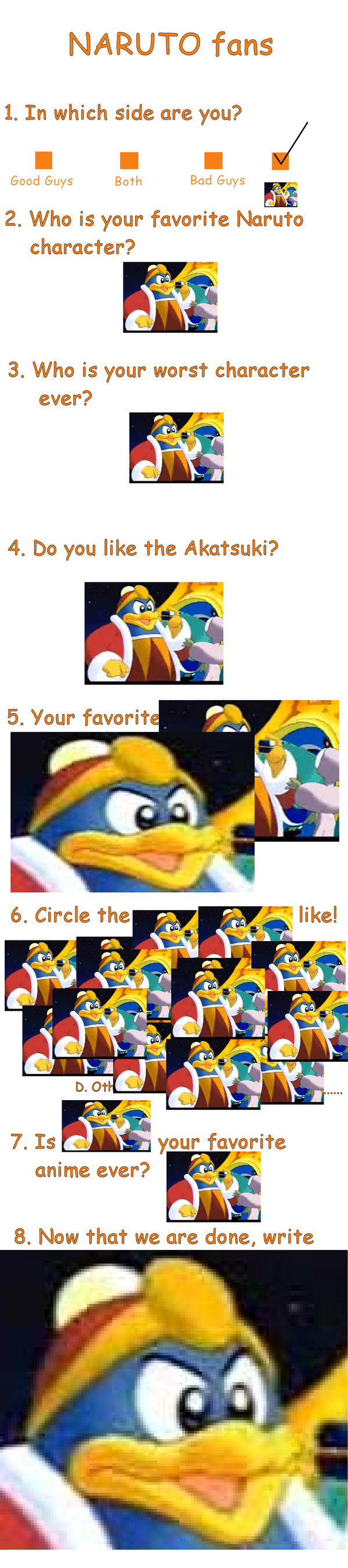 KING DEDEDE HAS INVADED A MEME by Rex507