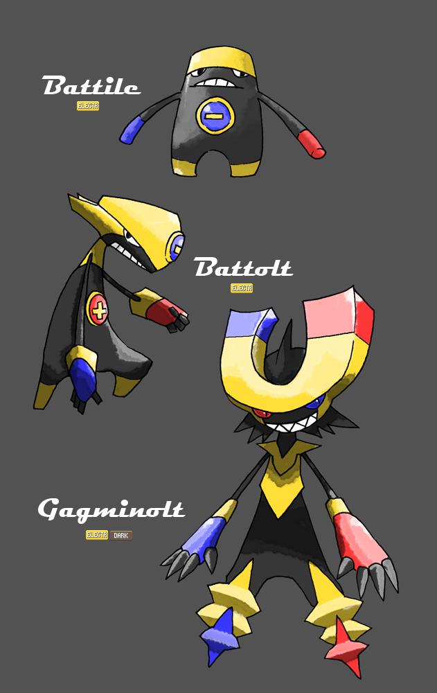 Battery Pokemon by El-Dark-Core
