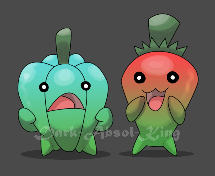 Cute Peppers by El-Dark-Core