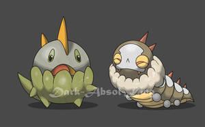 Dragon and Bug by El-Dark-Core
