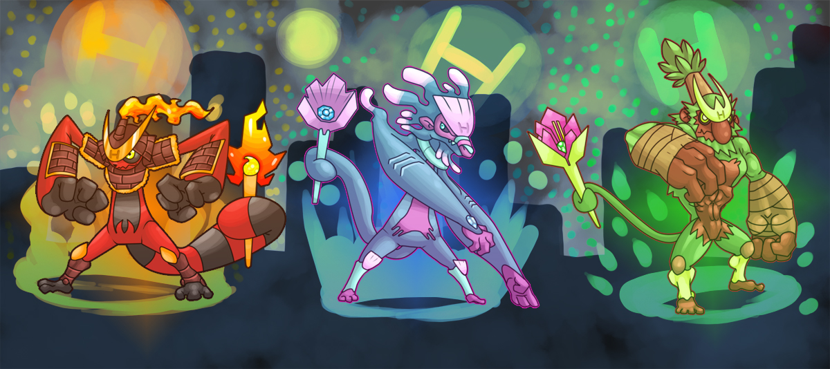 Heroes Trio by El-Dark-Core