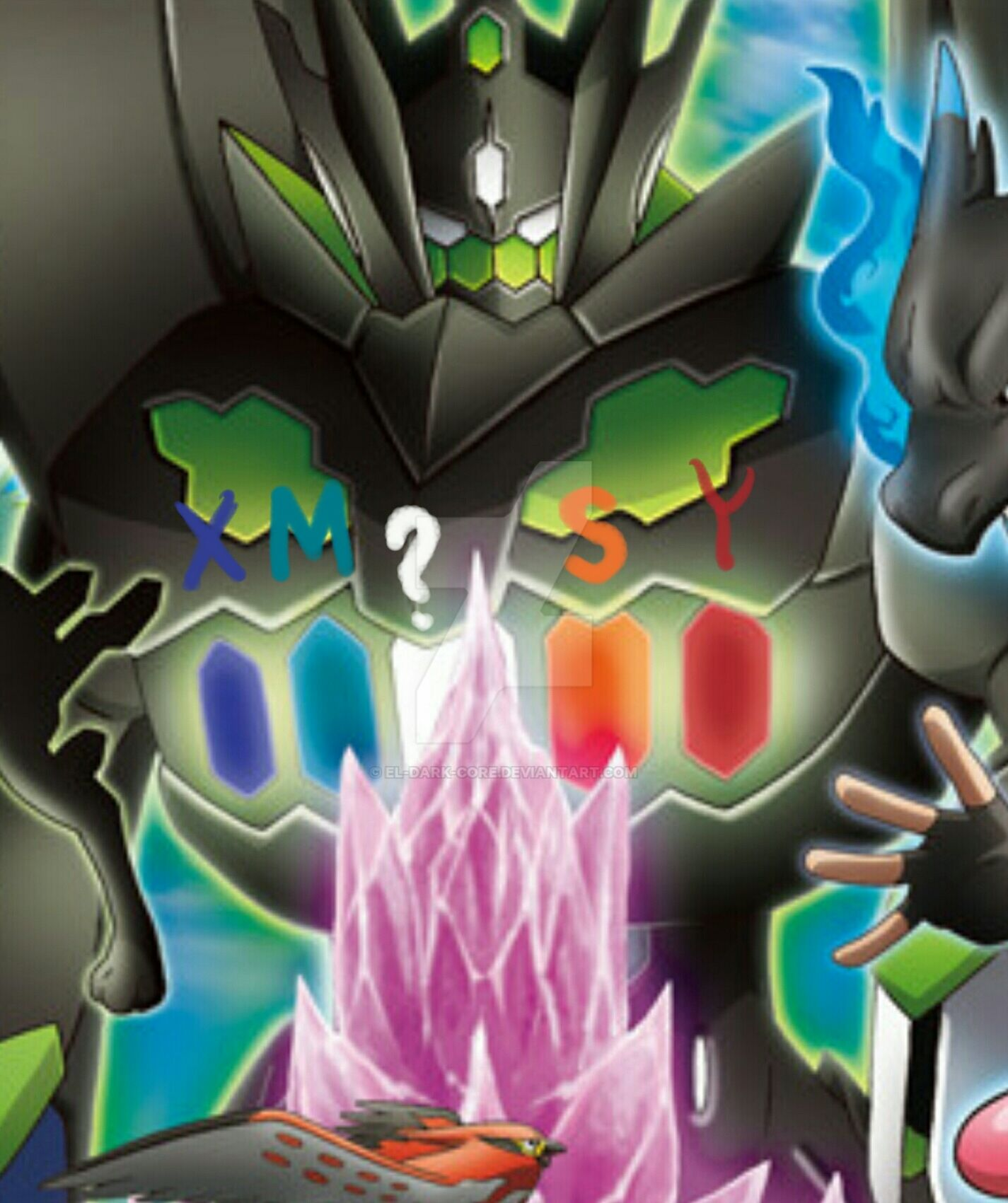 Perfect Zygarde Is The Key By El-Dark-Core On DeviantArt