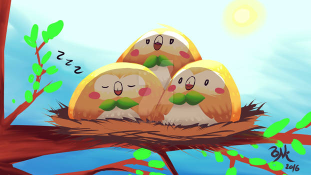 Rowlet in day