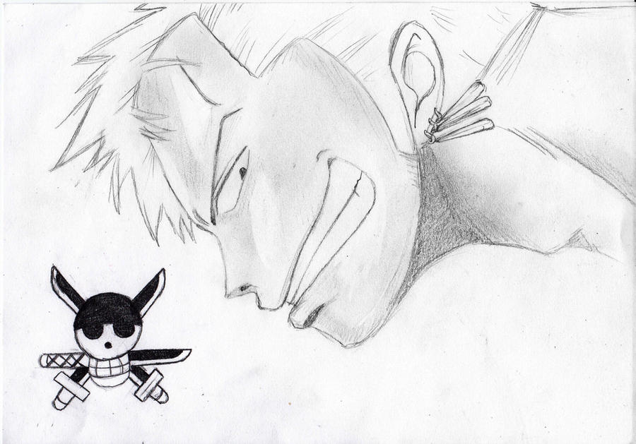 Roronoa zoro by ayakestra on deviantart for One piece dibujos