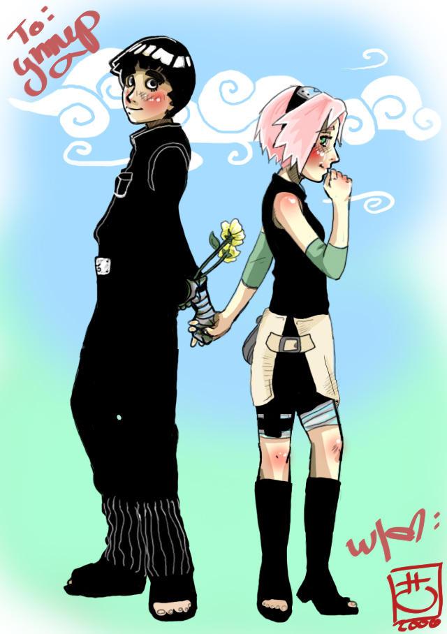 Sakura and Lee by Just-Like-Shipwrecks