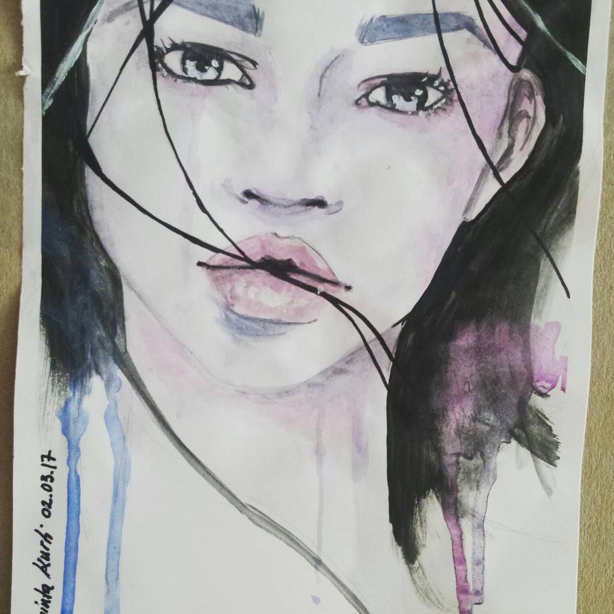 #watercolor by Uta97
