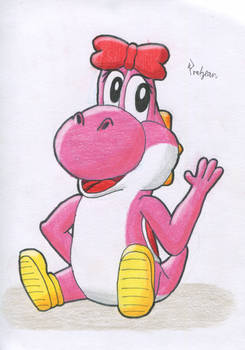 Yoshi weiblich - Pink