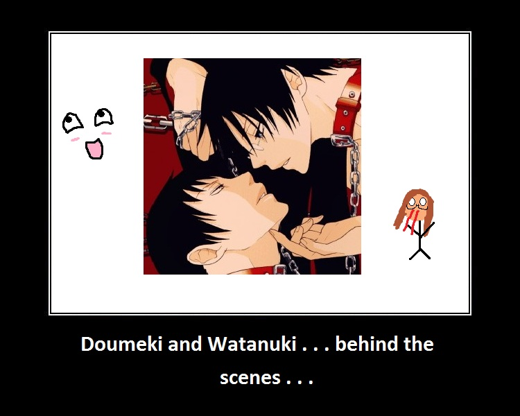 watanuki and doumeki relationship questions