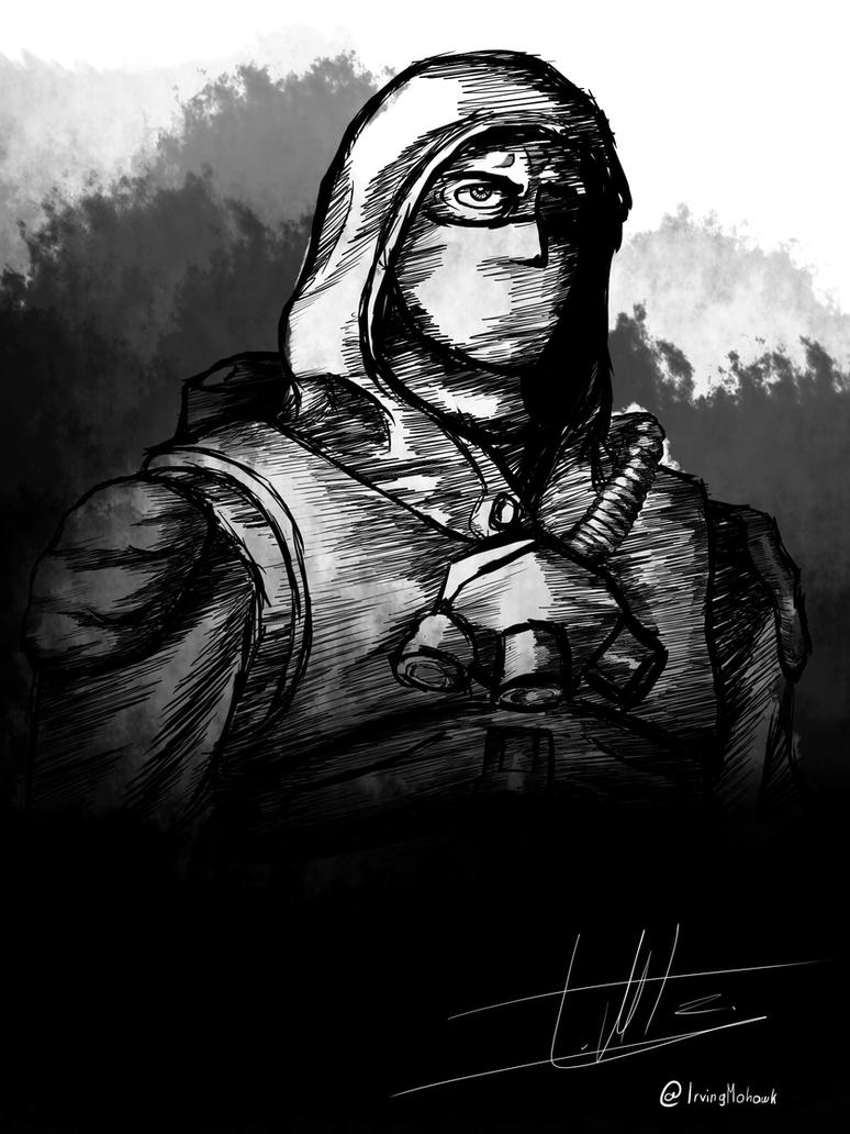 stalker from S.T.A.L.K.E.R by IrvingMohawk