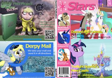 MLP Stars Magazine Cover