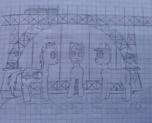 Friends Under The D. Luis Bridge