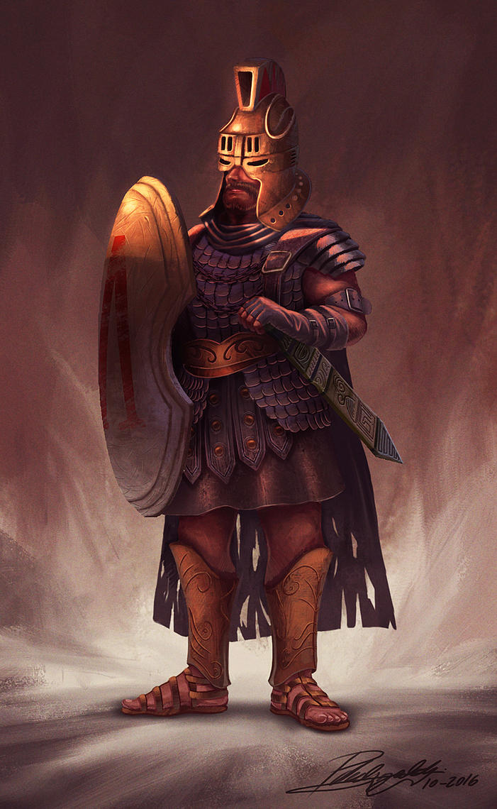 Gladiator by PedroDeElizalde