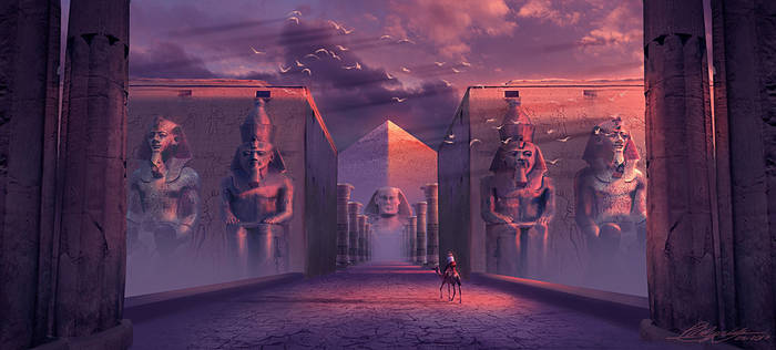 Ancient Civilizations Lost and Found Concept 02