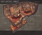 Pirate Captain's Cabinet