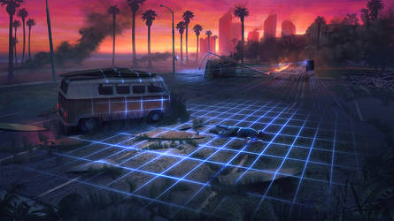 80's Post Apocalyptic Miami