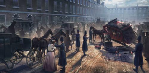 London 1800 by PedroDeElizalde