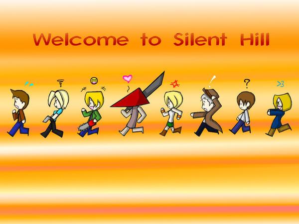 Silent Hill Wallpaper by Mast3rRiku
