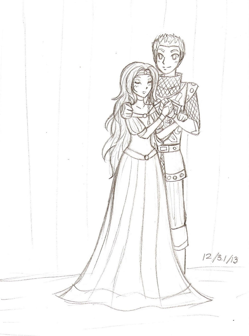 teen wolf rvb 2013 princess and her knight by starshinesoldier