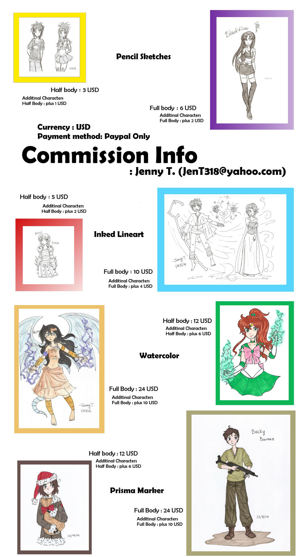 Commission Info - Open by Starshinesoldier